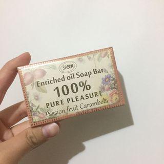 [全新]Sabon百香楊桃棕櫚油香氛皂#出清2019
