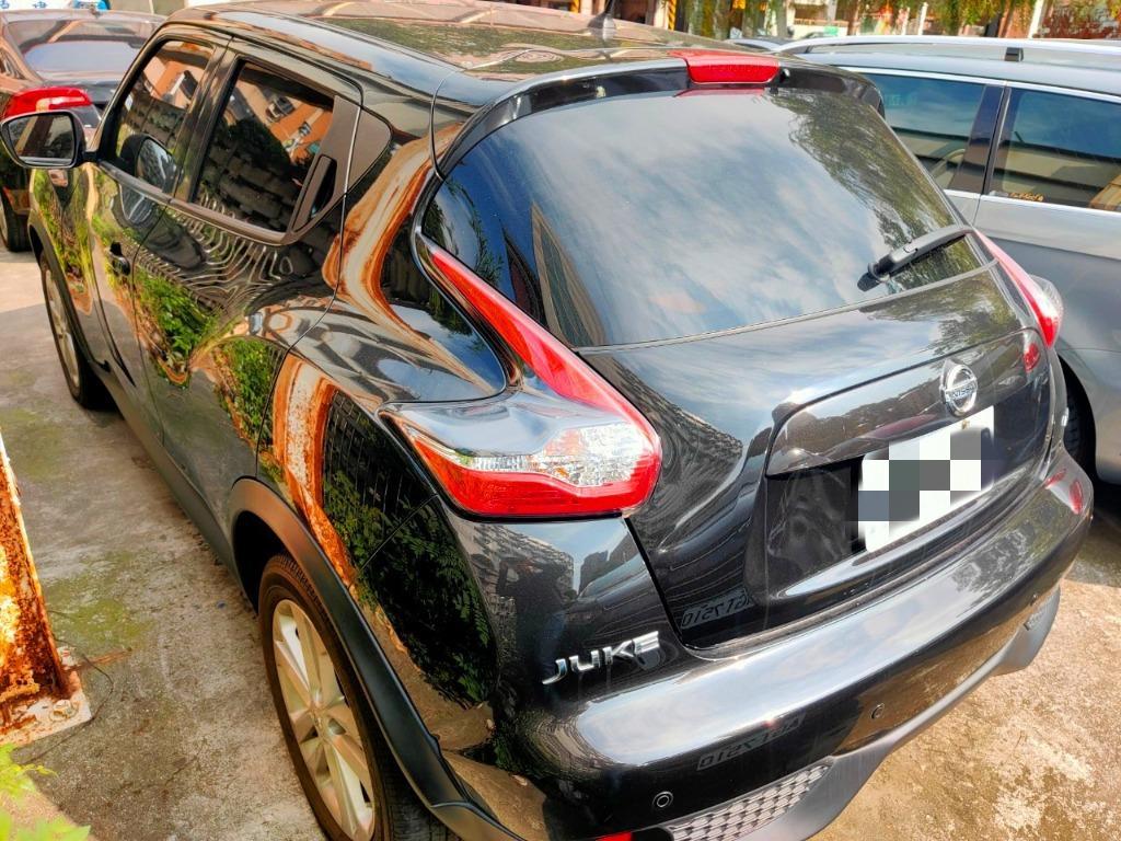 2015年NISSAN JUKE 1.6黑 英式小休旅稀有渦輪版 新車價120萬 現正優惠中