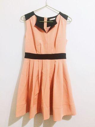 nuee粉色二手洋裝
