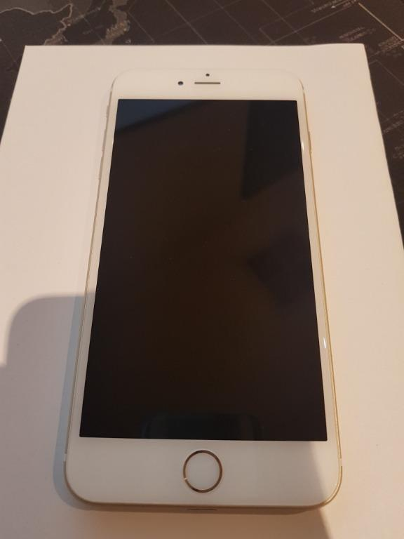 Apple iPhone 6 plus 64GB GOLD PERFECT CONDITION LOCKED