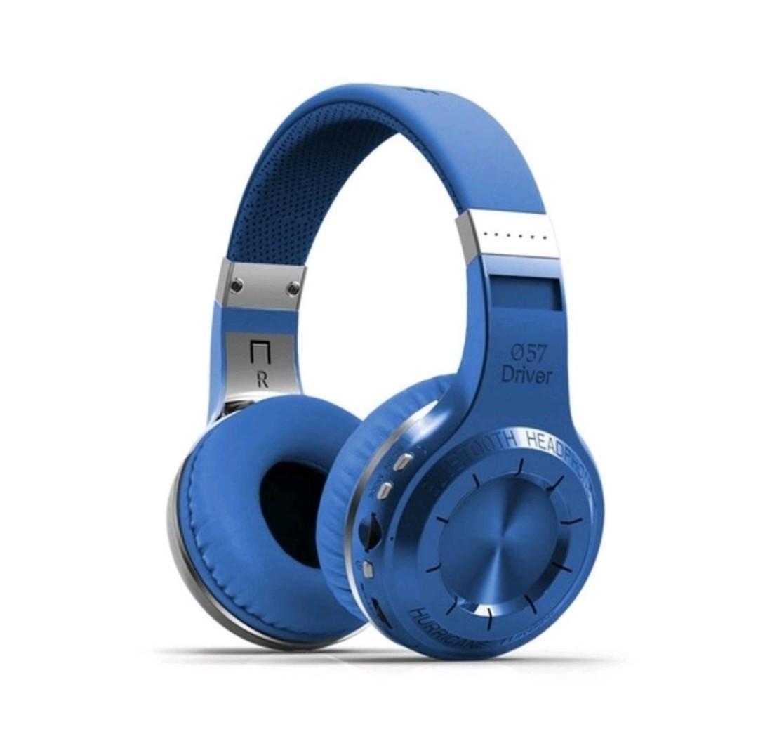 Bludio H + MP3 Stereo Headphones Heavy Bass Wireless Headset