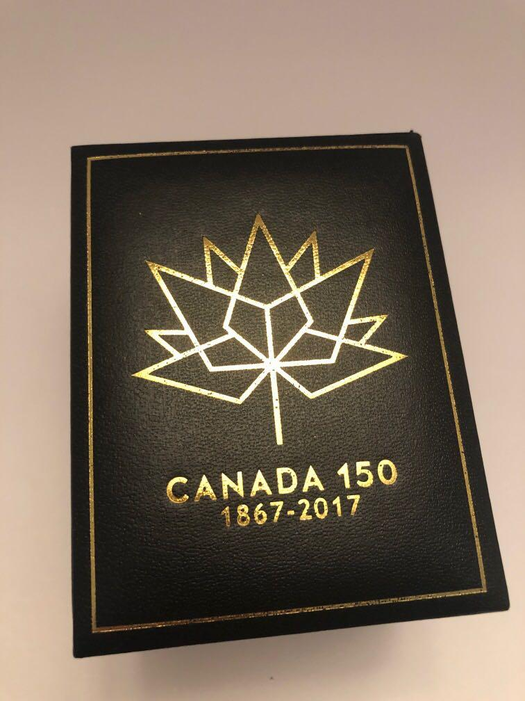 Canada 150th anniversary stainless steel Diamond watch
