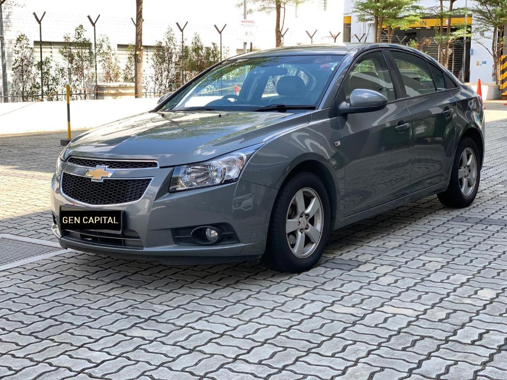 Chevrolet Cruze 100% No hidden fees & charges. $500 to driveaway Whatsapp Edwin @87493898 now!!