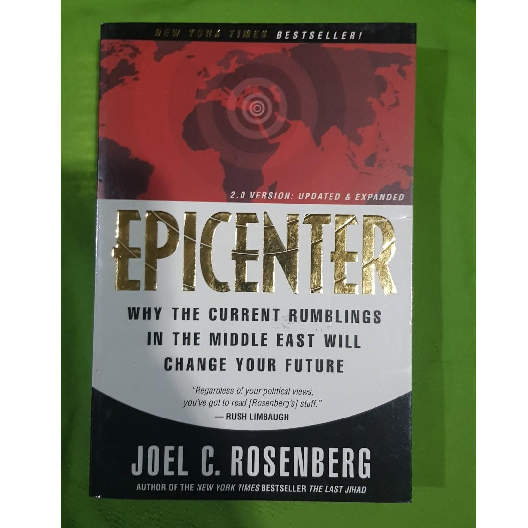 Pre-Loved Paperback Book: Epicenter: Why the Current Rumblings in the Middle East by Joel Rosenberg version 2.0