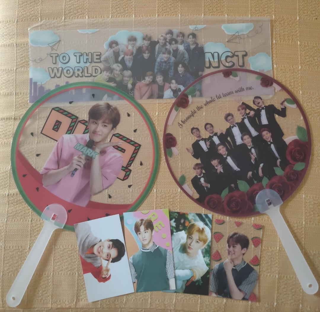 fanct2019 fankit for July and August birthday members