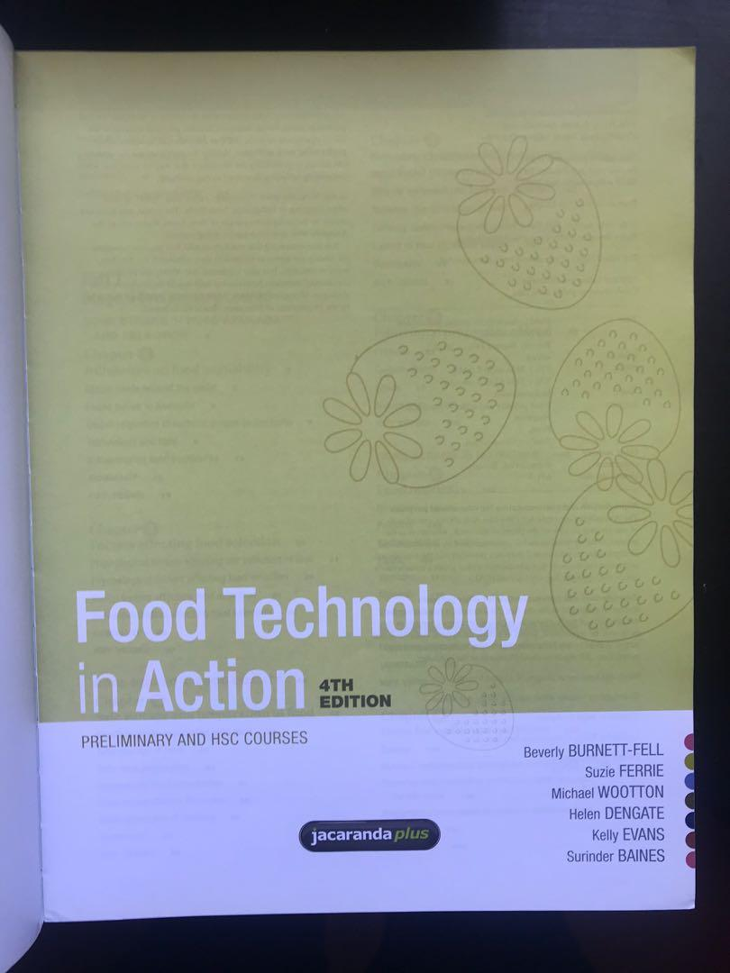 Food Technology in Action - Preliminary & HSC Textbook