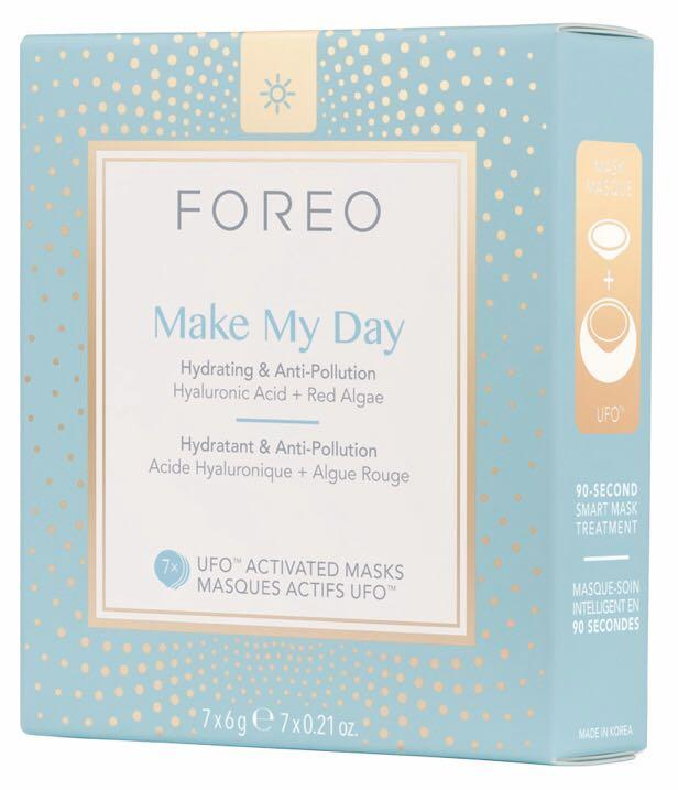Foreo Make My Day sheet mask hyaluronic acid & red algae bnib