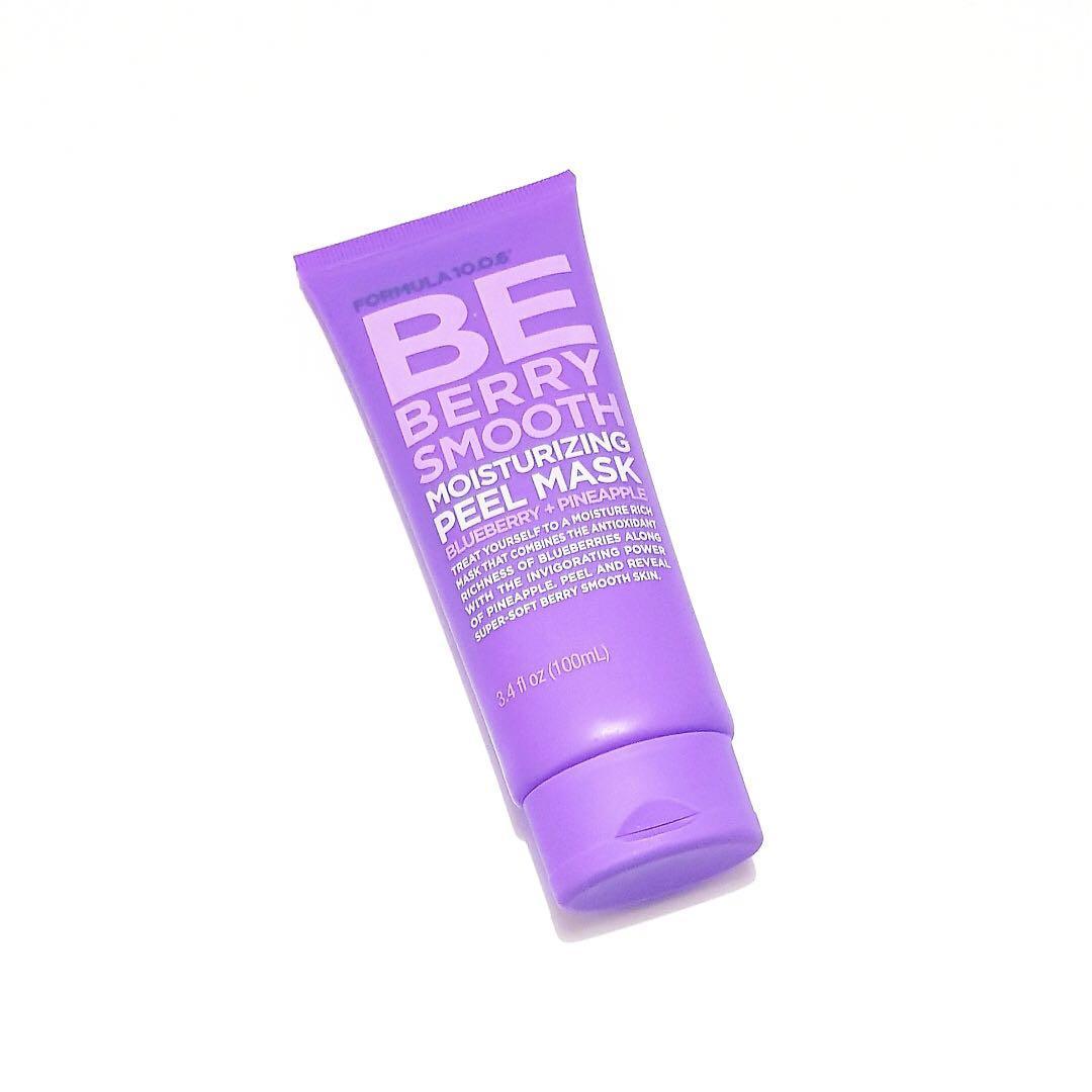 Formula 10.0.6 Be Berry Smooth Moisturising Brightening Moisturising Blueberry & Pineapple Peel Off Facial Face Masque Mask