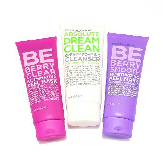 Formula 10.0.6  Absolute Dream Clean Creamy Cucumber & Grape Silky Facial Face Deep Foaming Cleanser