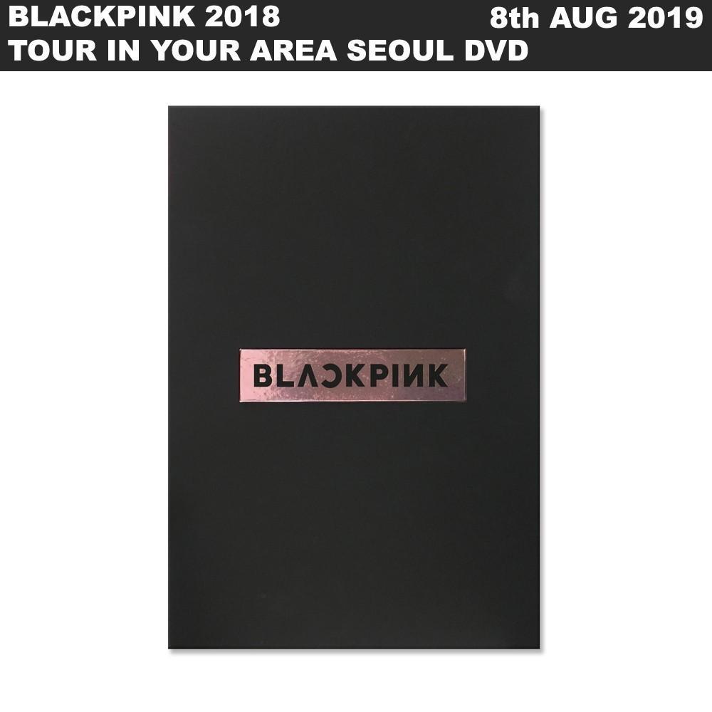 [FULLSET]BLACKPINK 2018 TOUR IN YOUR AREA SEOUL DVD