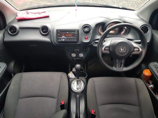 Honda Brio 1.2 E AT 2014 Black,Cocok Untuk Rutinitas Harian Yang Tinggi