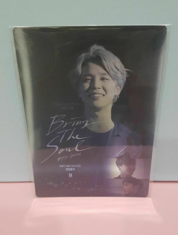 [WTS] JIMIN - BTS Bring The Soul Docu-Series Gift Lenticular Card Photocard 1ea