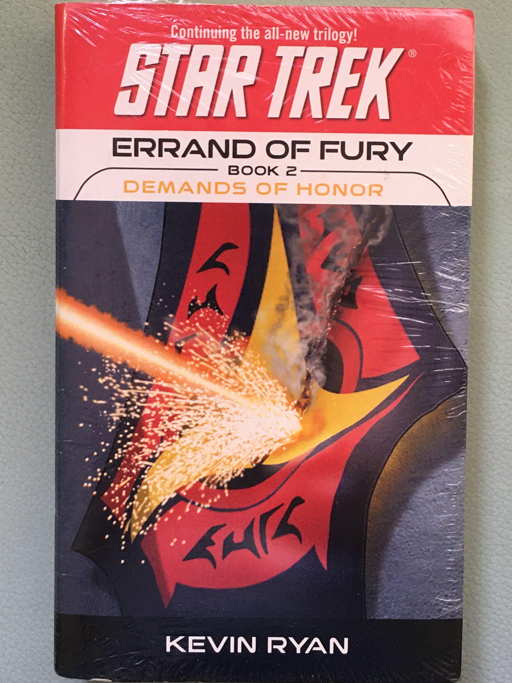 KEVIN RYAN_STAR TREK: Errands of Fury_Book 2- Demands of Honor