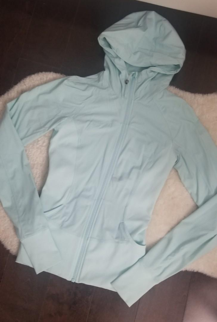 Lululemon Tiffany Blue Reversible Studio Jacket - size 6