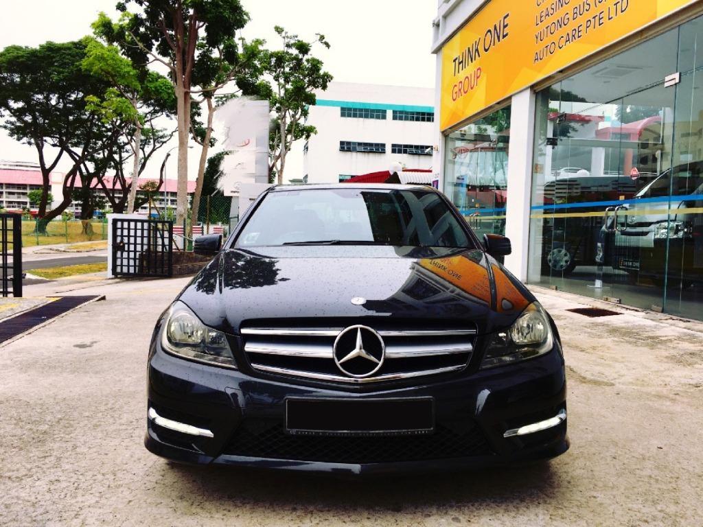 Mercedes-Benz C180 Kompressor BlueEfficiency Auto