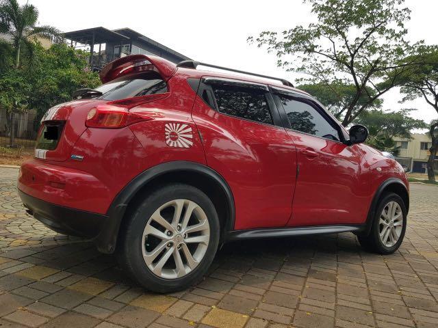 Nissan Juke RX CVT Red Edition 2013,Desain Unik Yang Tidak Pasaran