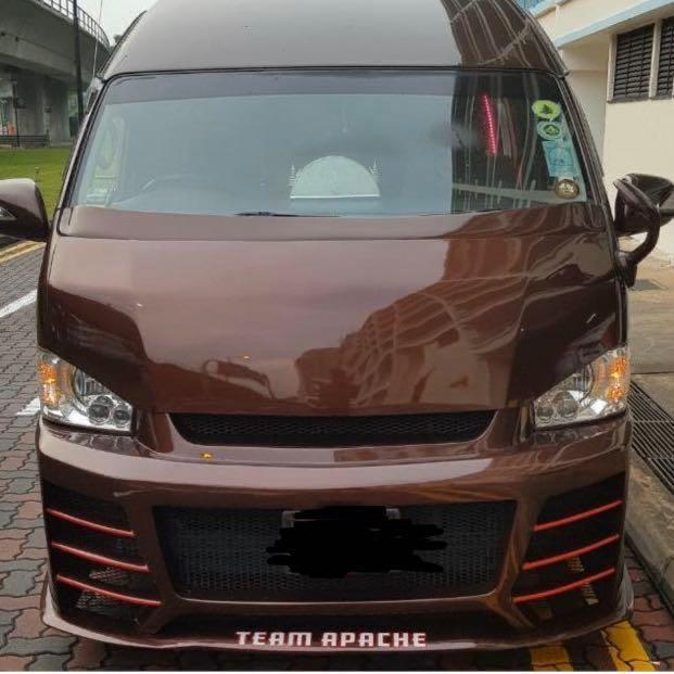 SG TRANSPORT 13 SEATERS TOYOTA HIACE