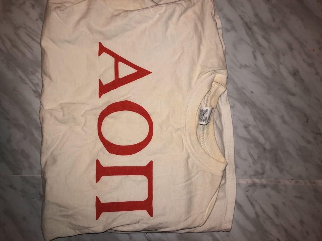 Sorority Apparel, The Social Life, Comfort Colours Alpha Omicron Pi clothing
