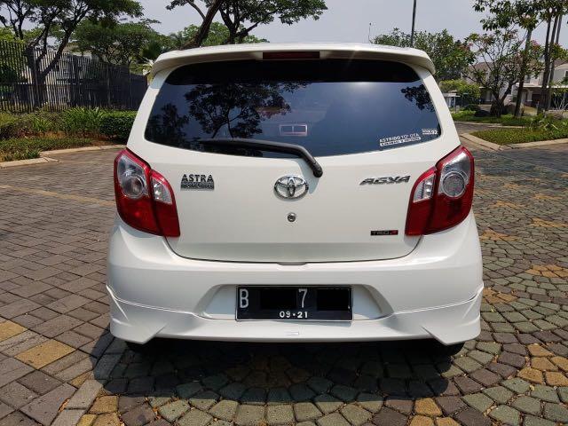 Toyota Agya 1.0 G AT TRD Sportivo 2016,Si Gesit Untuk Rutinitas Padat