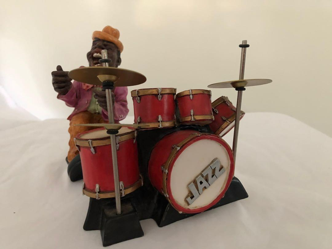 Vintage 1996 Retrospective Jazz Figurines Summit Collection Signed W.u.