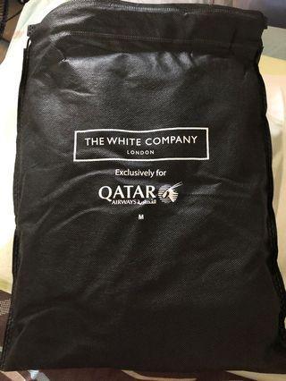 The White Company London Loungewear for Qatar Airways