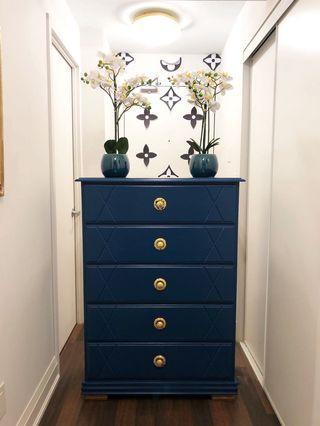 Antique/glam dresser