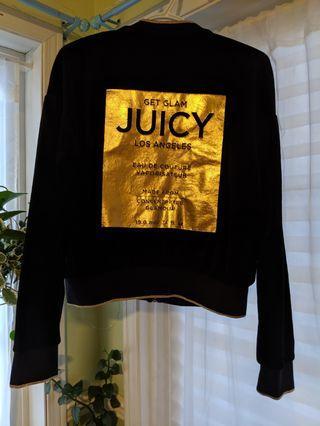 Juicy couture zip up sweater #swapCA