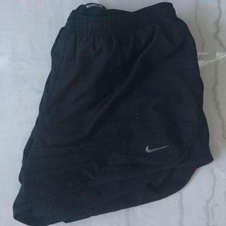 Nike shorts with zip