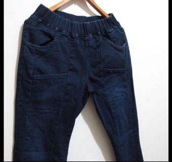 牛仔褲老爺褲 M