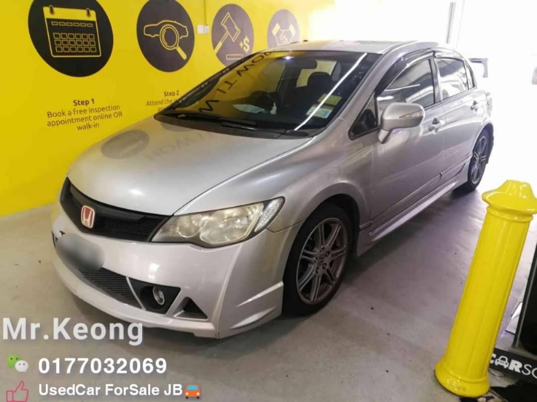 2008TH🚘Honda CIVIC 2.0 FD S i-VTEC(A) Full Mugen RR Bodykit🎉Cash💰OfferPrice💲Rm37,500 Only