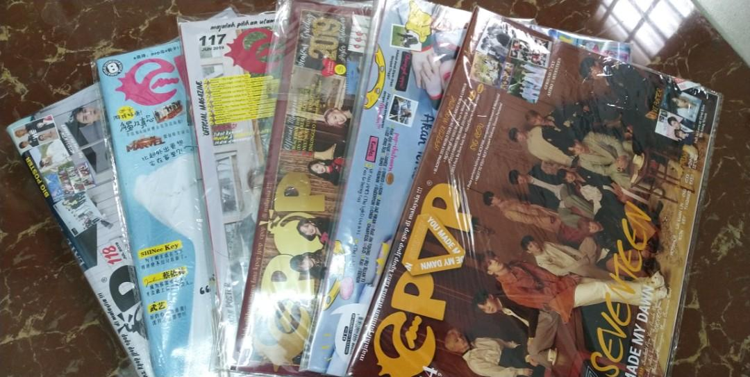 (ALL) (WTS) READY STOCK EPOP MALAY+CHINA (COMBO) | CLEARANCE, NEW,SEALED