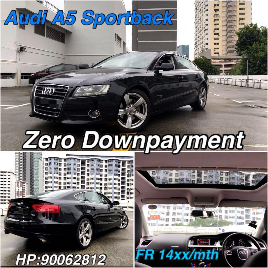Audi A5 Auto Sportback 2.0 TFSI quattro S tronic 5-Dr