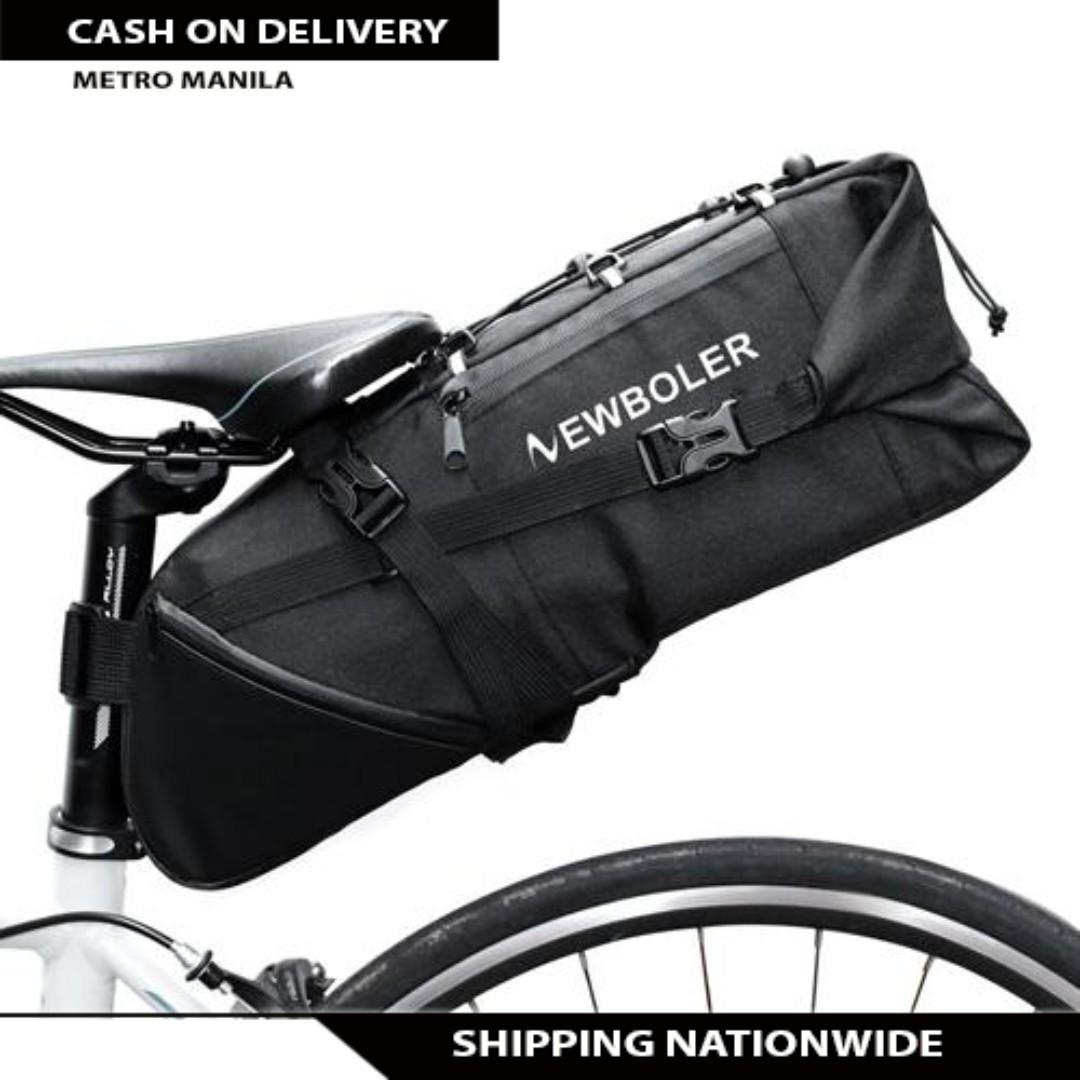 Bike Bag Bicycle Saddle Tail Seat Waterproof Storage Bags Cycling Panniers 10L