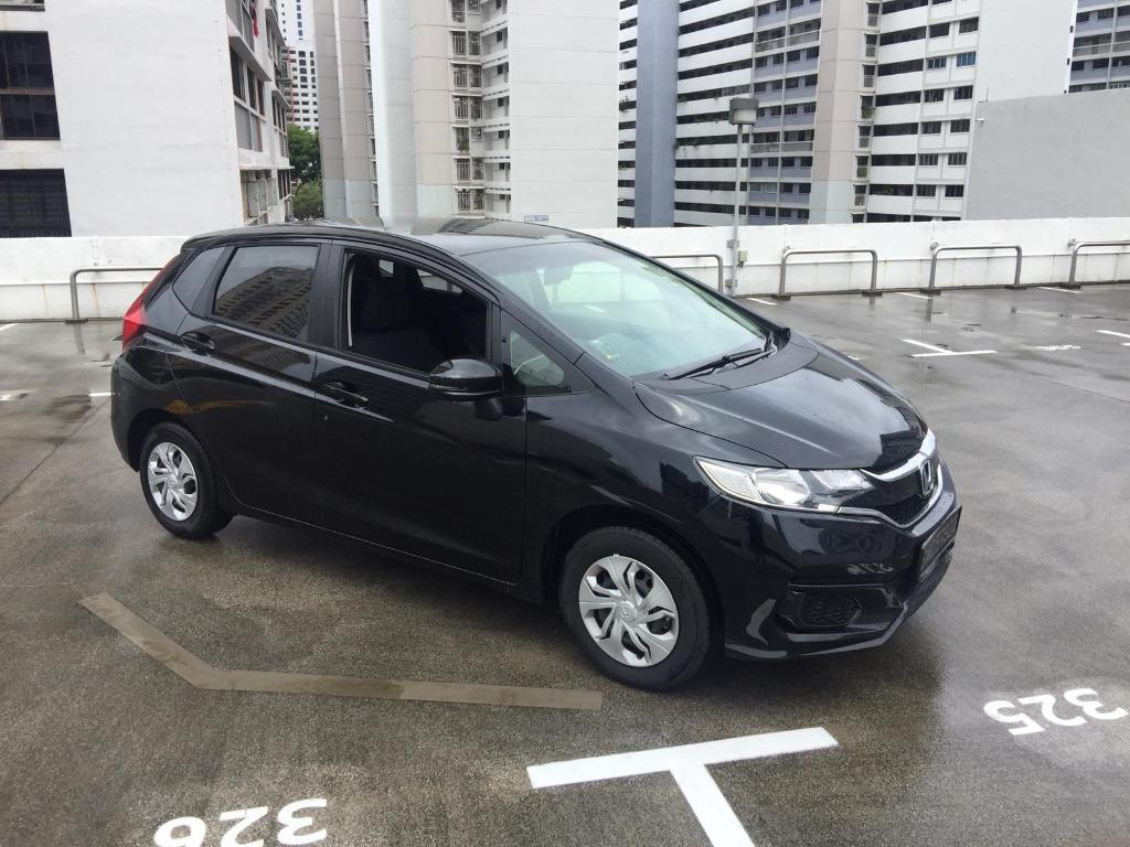 Brand New Honda Jazz 1.3A For Private-Hire Rental/Leasing