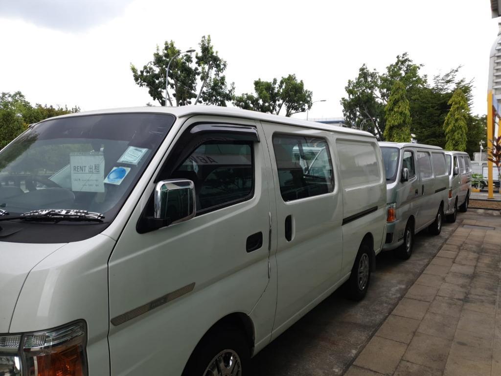 BRAND NEW Van for rent