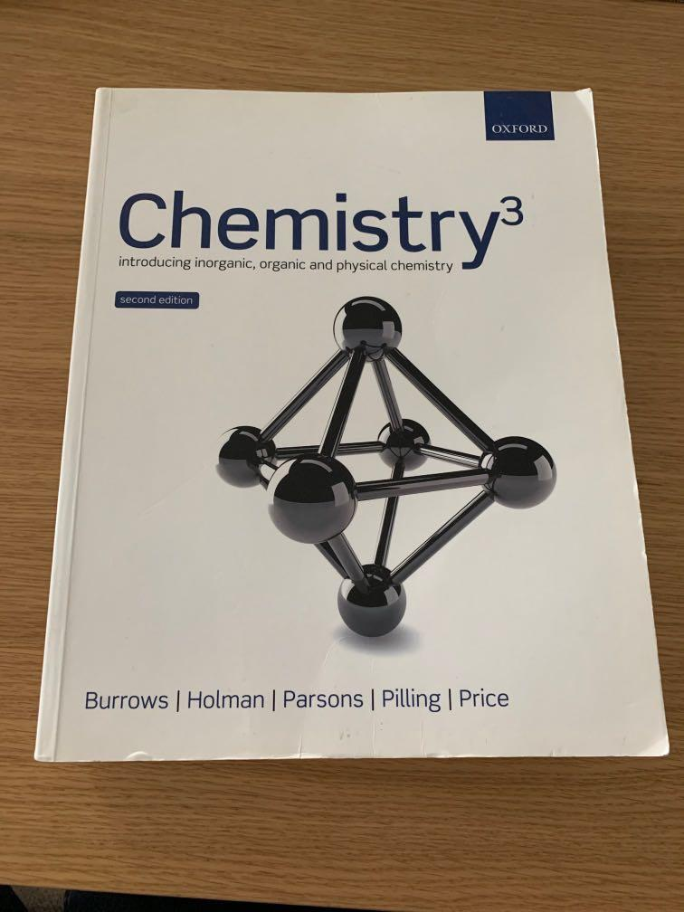 Chemistry: Introducing inorganic, organic and physical chemistry