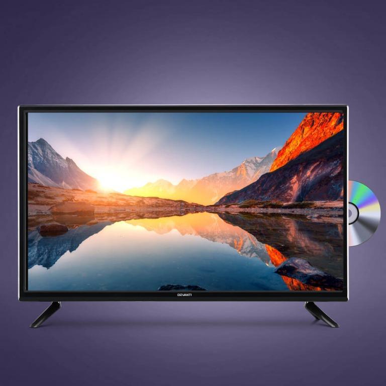 Devanti LED TV 32 Inch 32″ Digital Built-In DVD Player LCD LG Panel USB HDMI