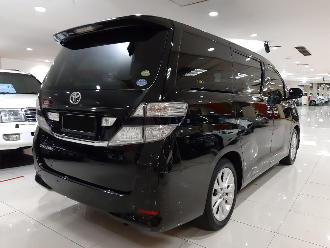 for sale Tahun 2009 Toyota VELLFIRE 2.4 AT.Keyless,Double SUNROOF,Elektrik Sliding DOOR.Nopol B-Dki(GANJIL)