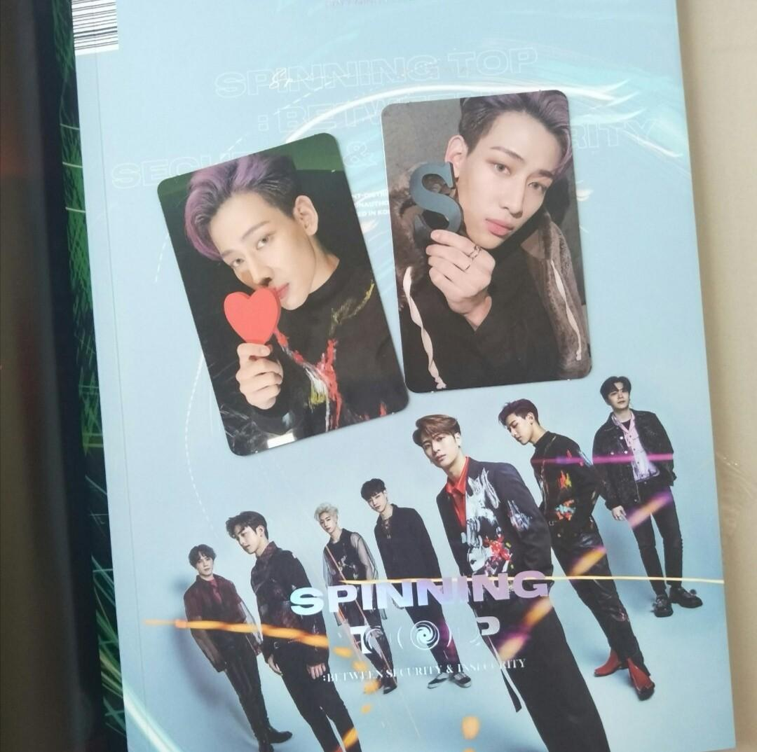 GOT7 SPINNING TOP: BETWEEN SECURITY AND INSECURITY UNSEALED ALBUM
