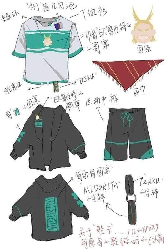 ⚡MIDORIYA IZUKU HERO ACADEMIA ANIME COSPLAY COSTUME STREETWEAR OUTFIT MEN FASHION⚡