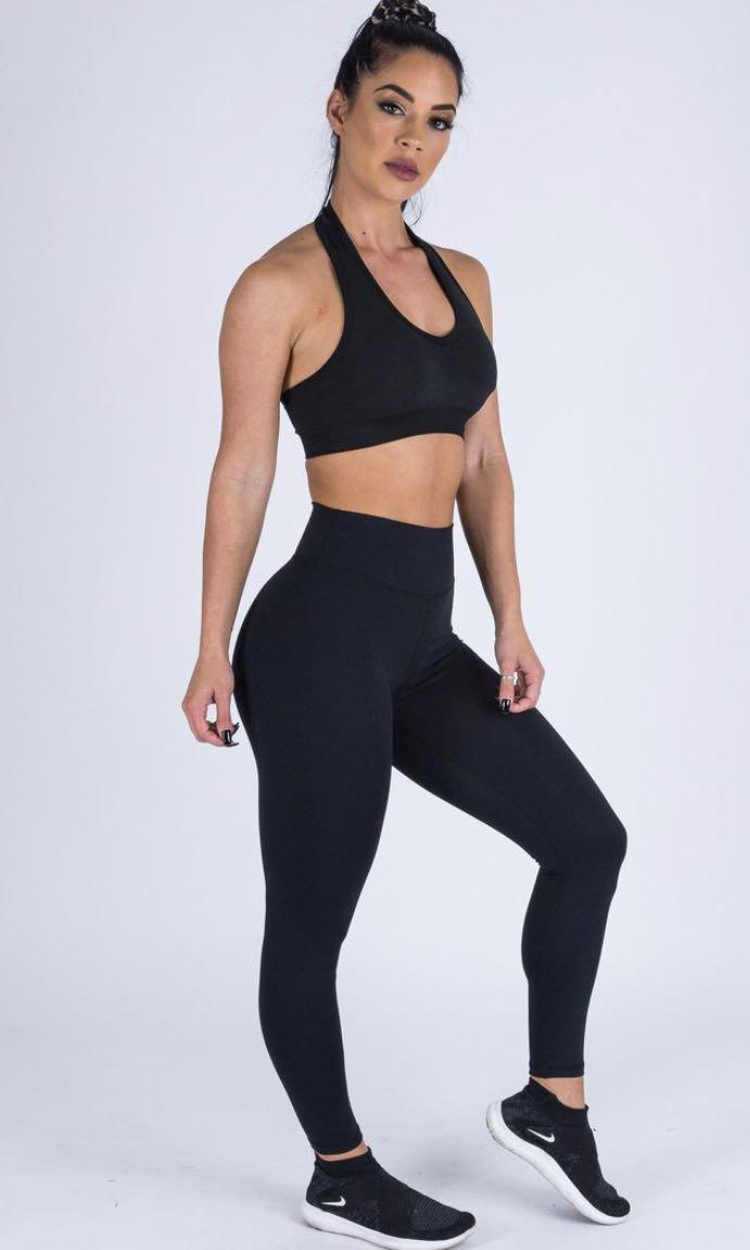 Muscle nation xs (6) as new never worn srunch bum black