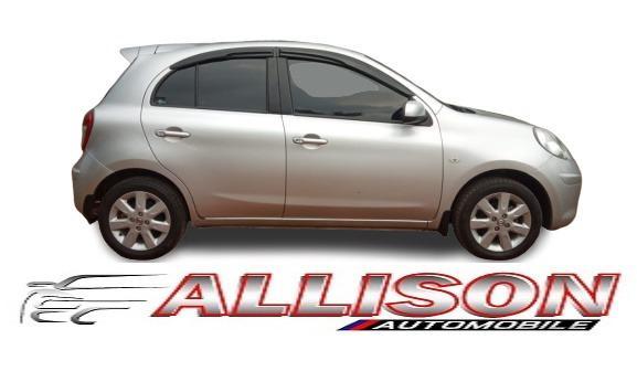 Nissan March 1.2L AT 2011 Silver Dp 5,9 Jt No Pol Genap