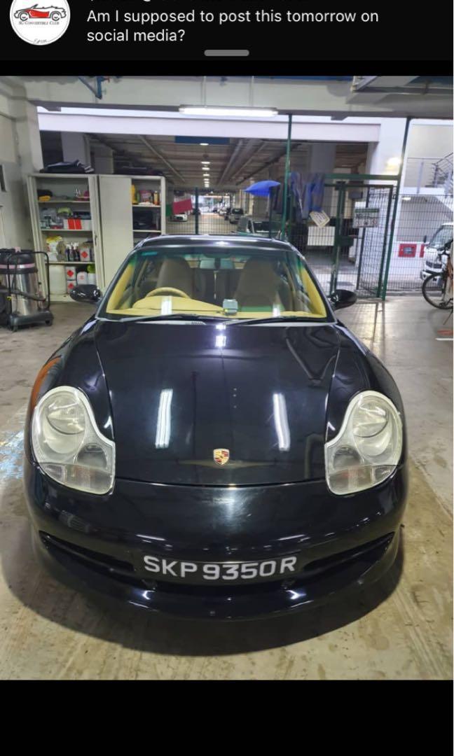 Porsche 911 3.4 Carrera 4 Coupe (A)