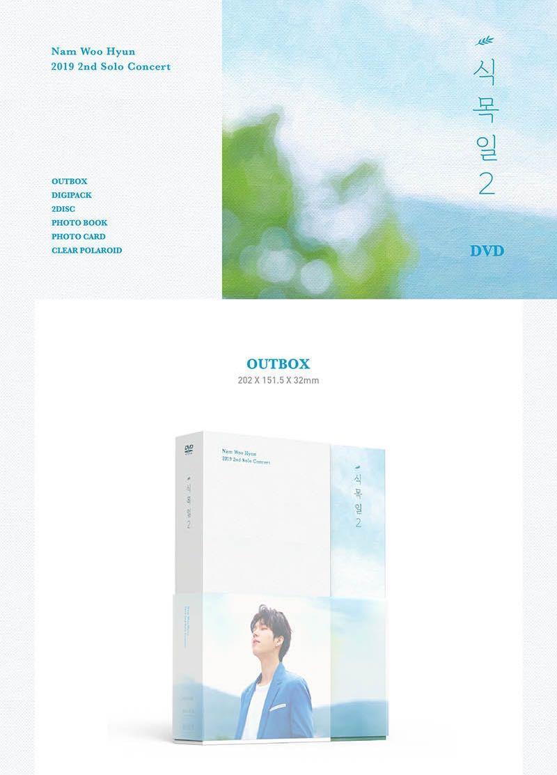 [Pre-Order] Nam Woo Hyun 2019 2nd Solo Concert [식목일 2] DVD