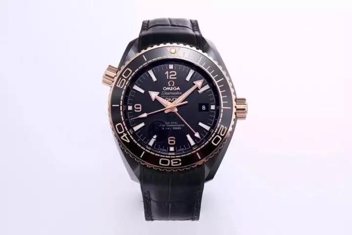[PRE-ORDER] Sea.master PIanet Ocean 600M GMT ''SWISS QC'' 18K Rose Gold Professional Black Ceramic Dial Swiss Engine 8906 ( ETA 7-14 Days )💥FREEGIFT SNEAKERS💥