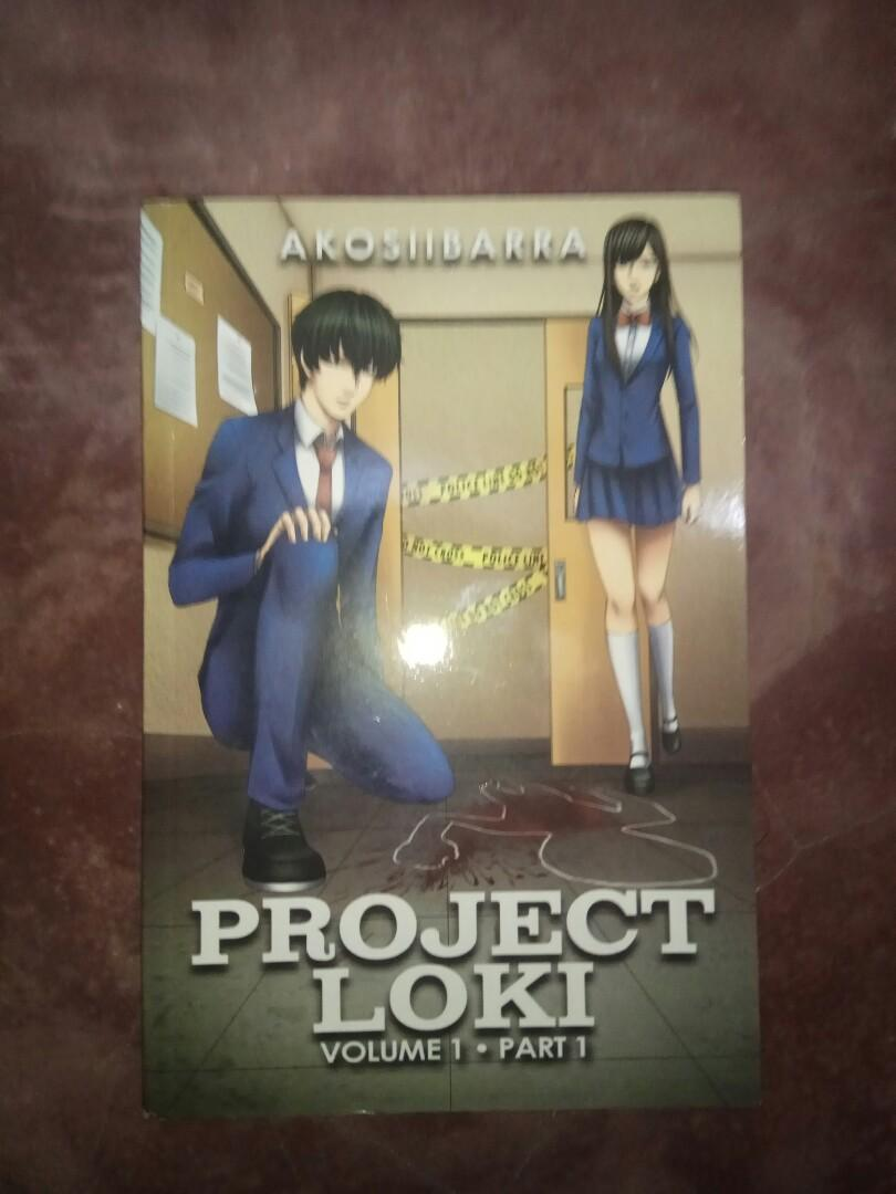 PSICOM Project Loki   Volume 1 Part 1  !!WITH THE AUTHOR'S SIGN!!