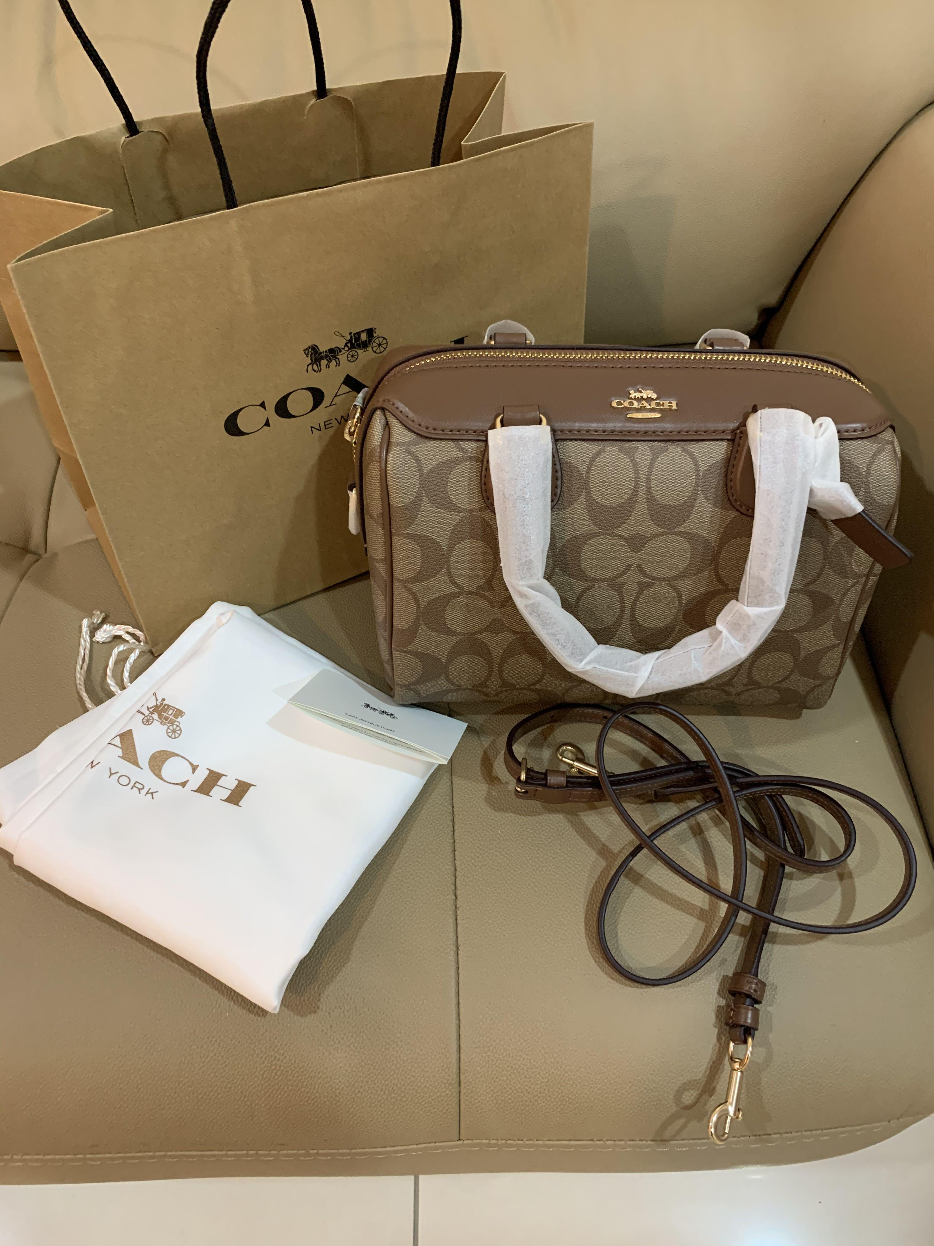 Ready stock authentic coach 32203 women Bennett crossbody sling bag handbag crossbody Bennett