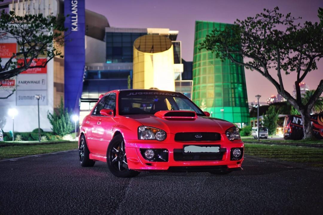 Subaru Impreza WRX 2.0 Turbo (M)