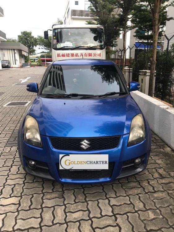 Suzuki Swift Sports For Rent! Gojek Rebate, Personal, Grab