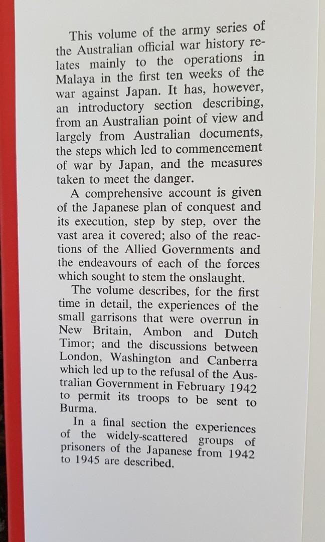 THE JAPANESE THRUST BY LIONEL WIGMORE AUSTRALIAN WAR MEMORIAL CANBERRA